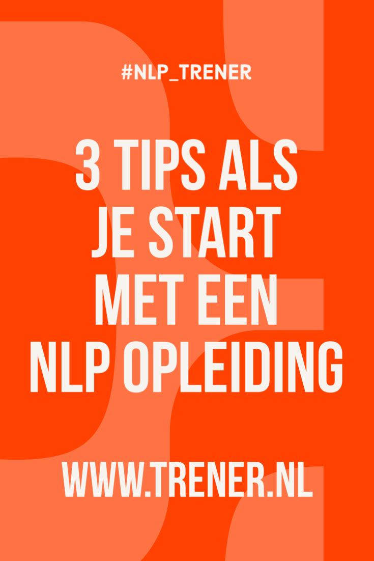 NLP Practitioner Den Haag